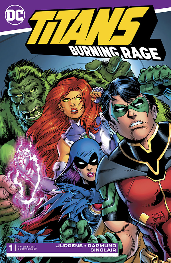 Titans: Burning Rage #1 [Preview]
