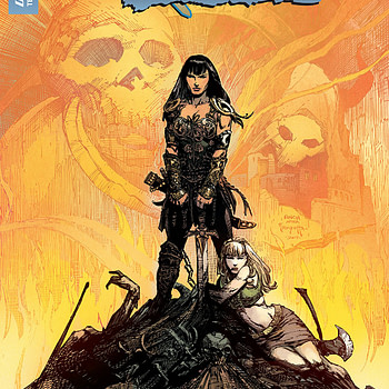 Xena: Warrior Princess #2 cover by David Finch and Triona Farrell