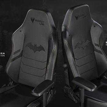 Warner Bros. and Secretlab Partner Up For Batman Gaming Chairs
