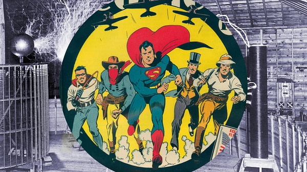 Superman, Tesla and the Emperor of America