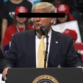 Illiterate Racist Parasite Trump Mocks Parasite Oscar Wins