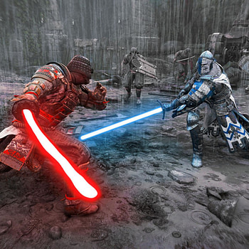 Ubisoft Added Light Sabers to For Honor for Star Wars Day