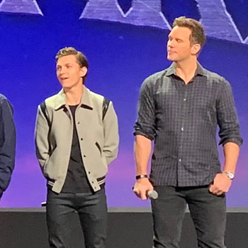 """""""It's Been A Crazy Week But... I Love You 3000"""" -Tom Holland on the D23 Stage For Pixar's Onward - No One Mentions Spider-Man"""