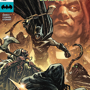 Batman: Detective Comics #982 cover by Sebastian Fiumara and Brad Anderson