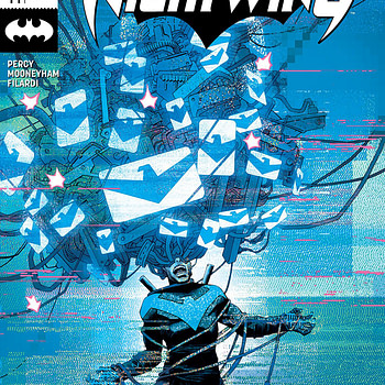 Nightwing #44 cover by Declan Shalvey and Jordie Bellaire