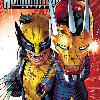 Hunt for Wolverine: Adamantium Agenda #2 cover by Greg Land and Rain Beredo