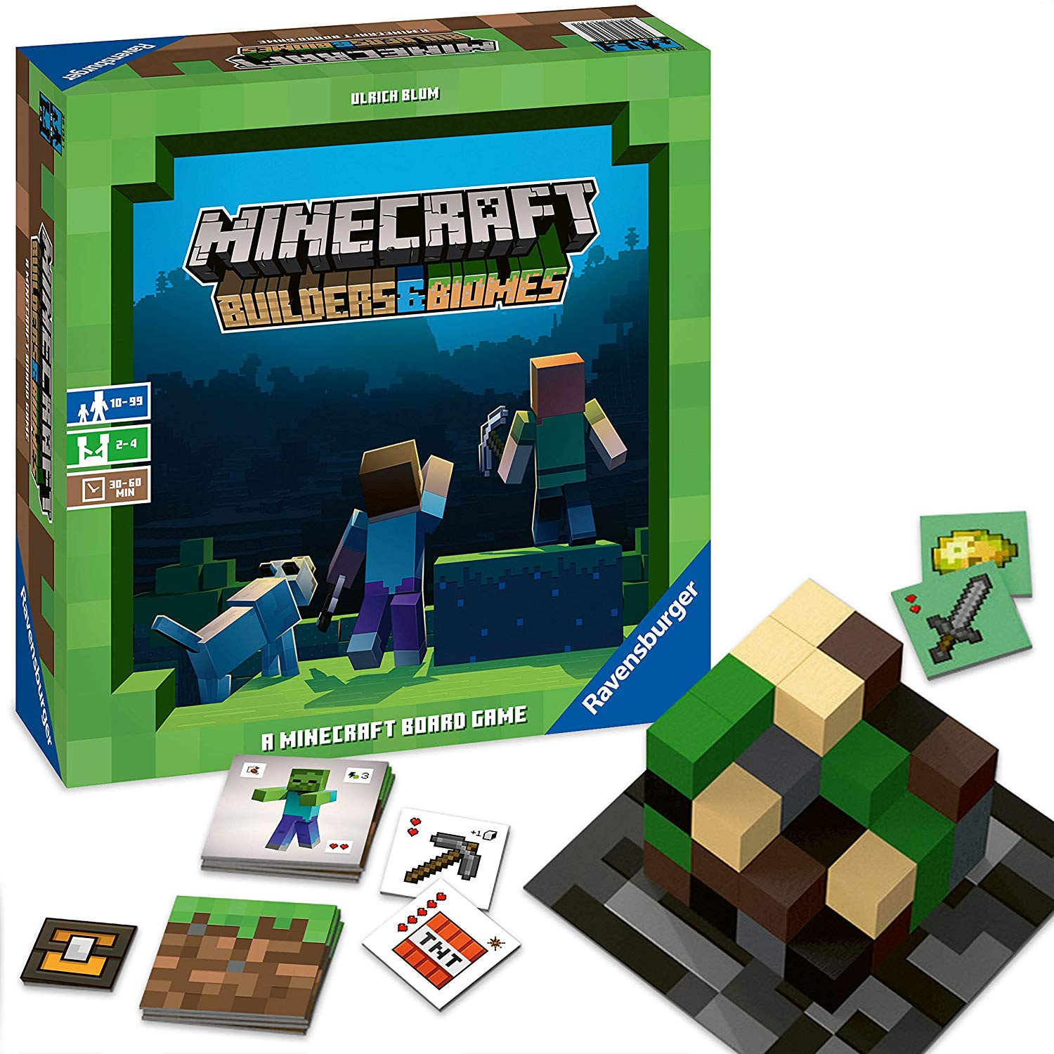 """""""Minecraft: Builders & Biomes"""" Brings the Action to (Board Game) Life"""