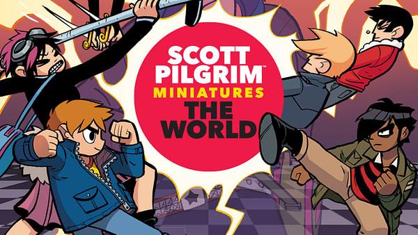 """""""Scott Pilgrim"""" Miniature Board Game Gets Full Kickstarter Funding"""