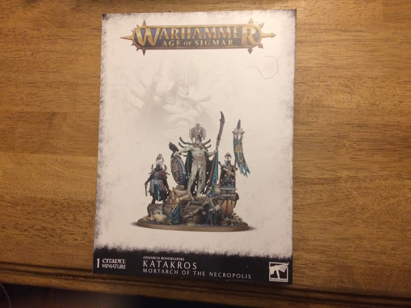 """Review: Games Workshop's """"Katakros"""" Miniature - """"Age of Sigmar"""""""