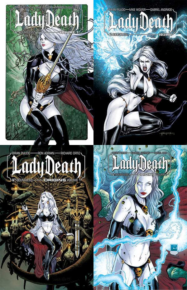 LadyDeathTPB-set