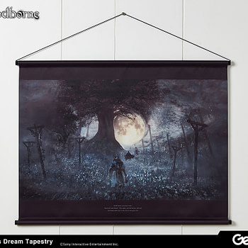 Bloodborne Artwork Becomes Collectibles with Gecco Tapestries