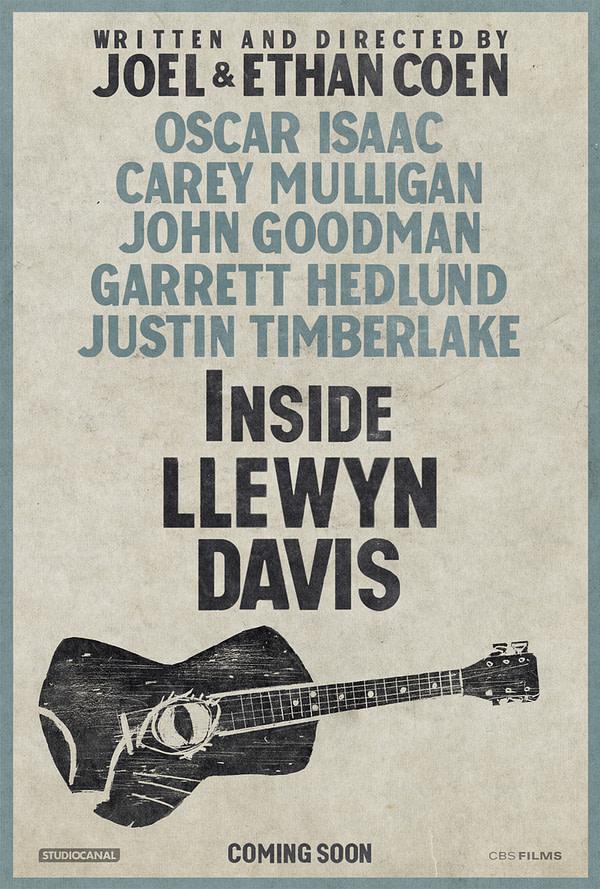 llewyn davis one sheet poster