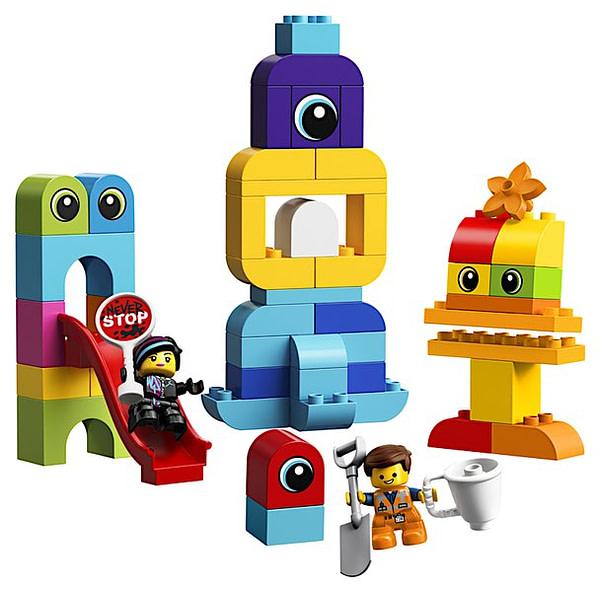 LEGO Movie 2 Emmet and Lucy Duplo Vistors 2