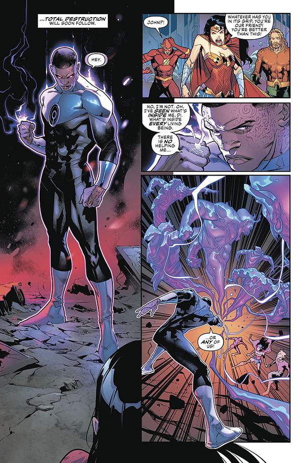 Justice League #3 art by Jorge Jimenez and Alejandro Sanchez