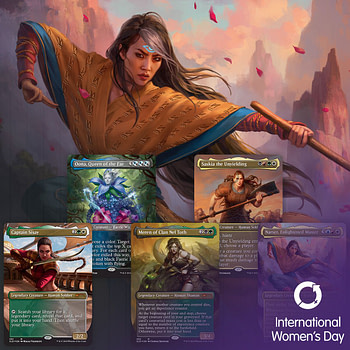 """Secret Lair"" for World Women's Day 2020! - ""Magic: The Gathering"""