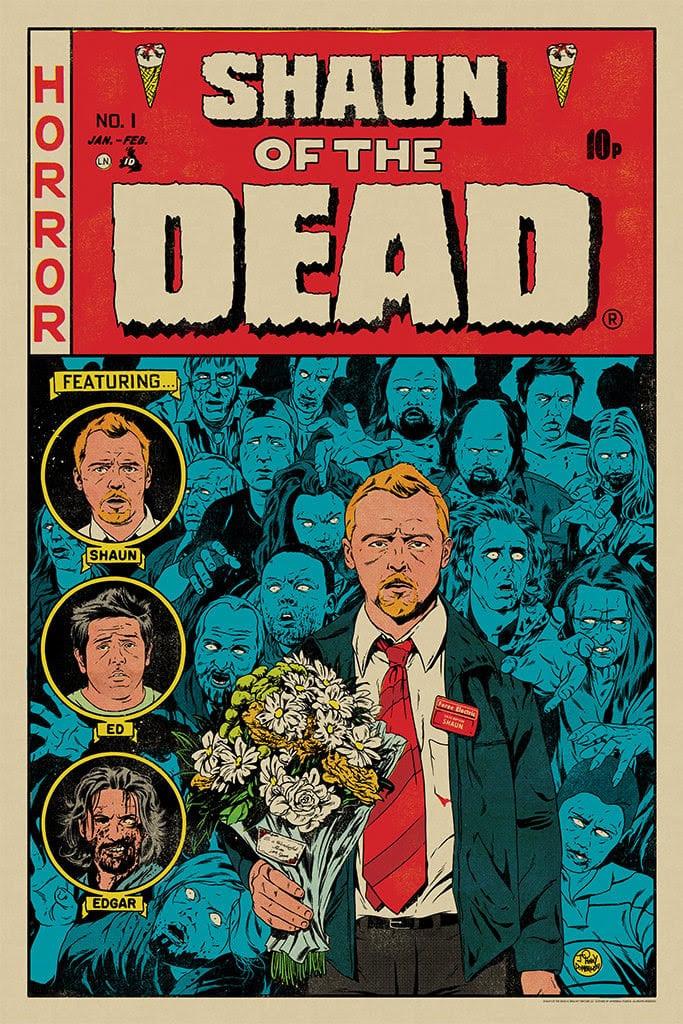 Mondo Shaun of the Dead Poster