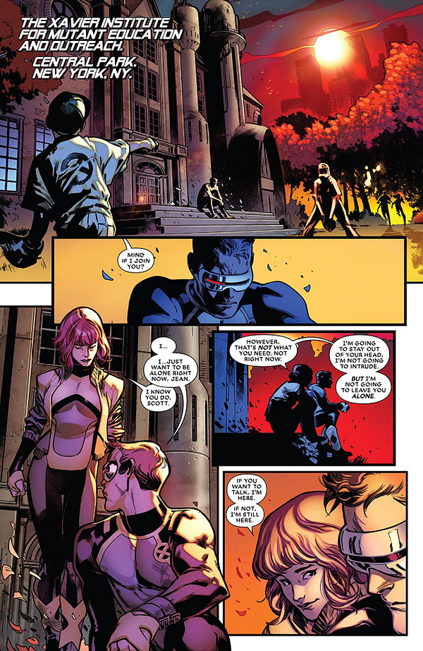 Extermination #2 art by Pepe Larraz and Marte Gracia