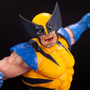 Wolverine Goes Berserk with New Kotobukiya Statue
