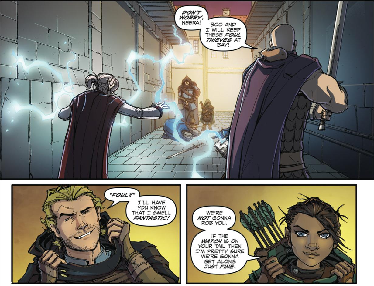 D & D Legends of Baldur's Gate #2