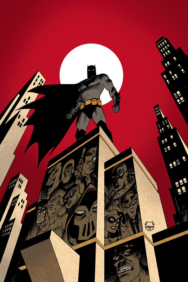 Paul Dini Revives Batman: The Animated Series as New Comic Series