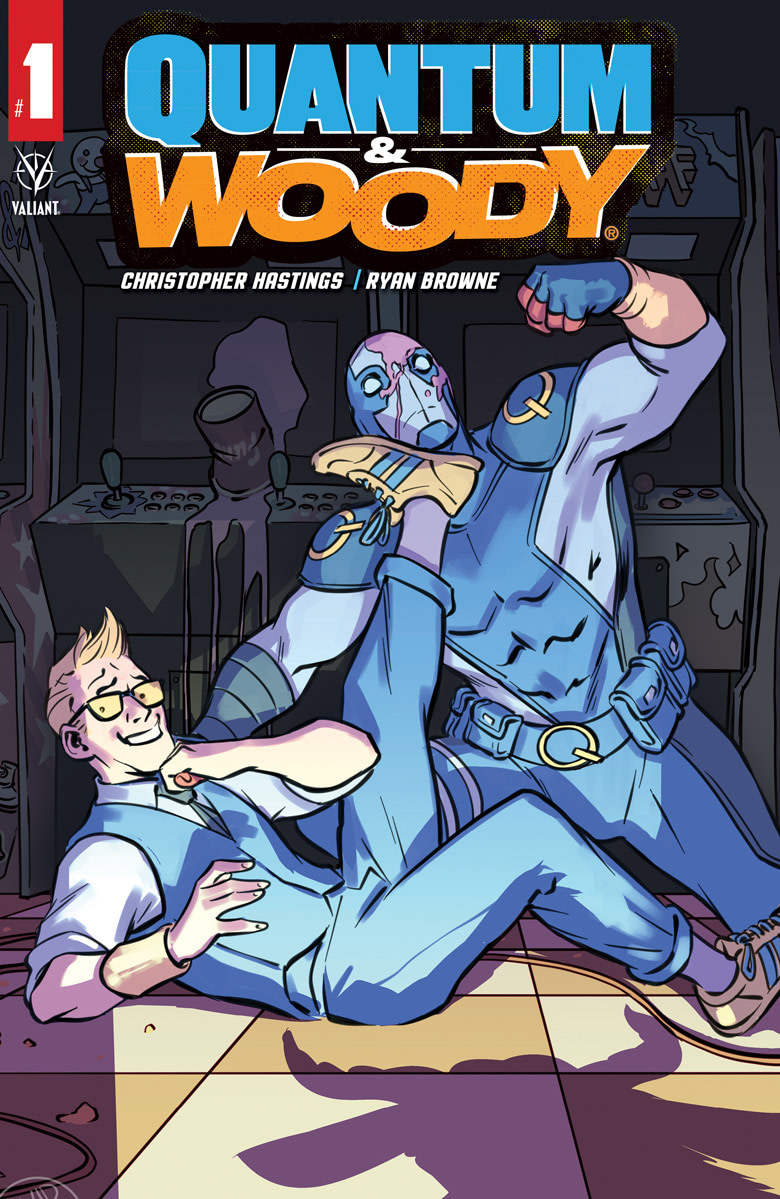 Quantum and Woody #1 [Preview]