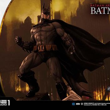 "Prime 1 Studios Celebrates 10th Anniversary with ""Batman: Arkham City"" Statue"