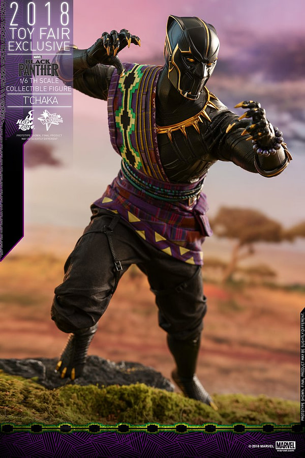 Hot Toys T'Chaka Black Panther 13