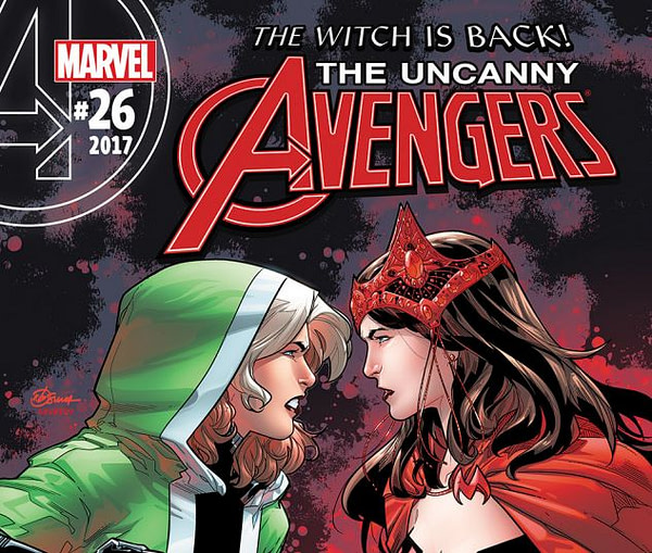 Cover to Uncanny Avengers #26