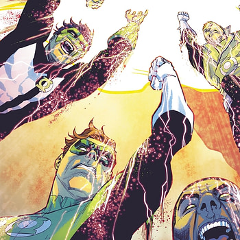 Hal Jordan and the Green Lantern Corps #36 cover by Francis Manapul