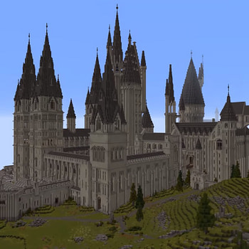 """Someone Made A """"Minecraft"""" Map With A """"Harry Potter"""" Theme"""