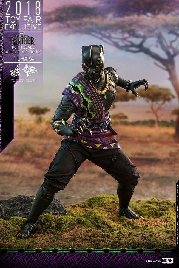 Hot Toys T'Chaka Black Panther 1