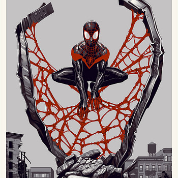 Spider Man MIles Morales Spider-Verse Poster 1