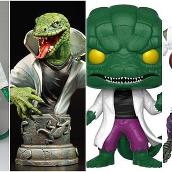 Figure History Lizard Collage
