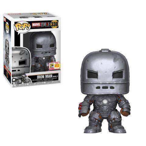 Funko SDCC Exclusive Marvel Iron Man Mark 1 Pop
