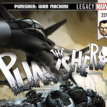 The Punisher #221 cover by Clayton Crain
