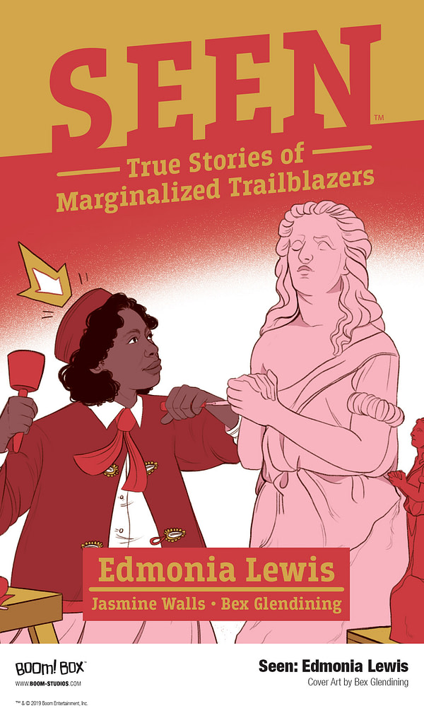 BOOM! to Publish Seen: True Stories of Marginalized Trailblazers Graphic Novel in 2020