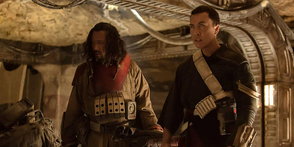 Jiang Wen and Donnie Yen
