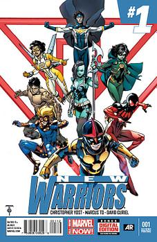 New_Warriors_1_Second_Print