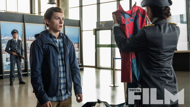 TSA is the Worst in a New Spider-Man: Far From Home Image