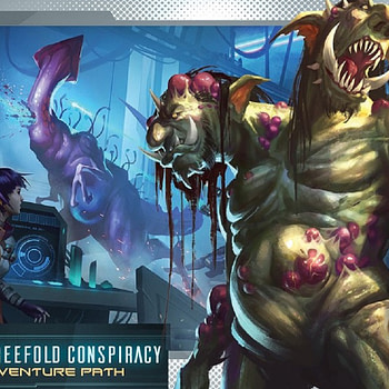 """Flight of the Sleepers"" Releases Monthly - ""Starfinder"""