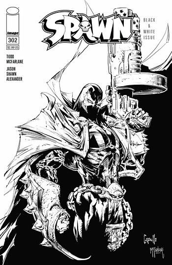 Spawn #302 Comes Back Down to $2.99 - and Gets a New Todd McFarlane Cover