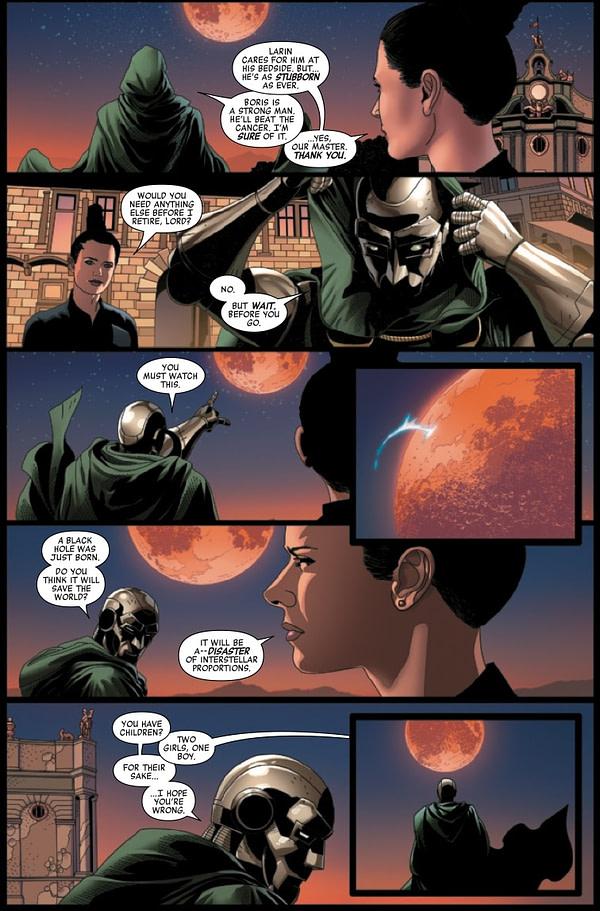 Doctor Doom #1 [Preview]