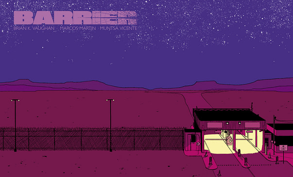 Barrier #1 cover by Marcos Martin and Muntsa Vicente