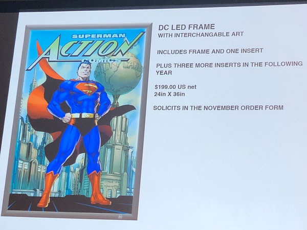 DC Moves Comic Store LED Sign Inserts Back To $25 a Year