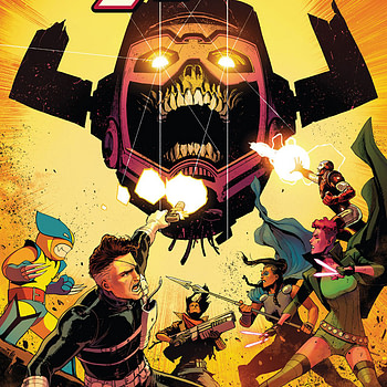 Exiles #5 cover by David Marquez and Tamra Bonvillain