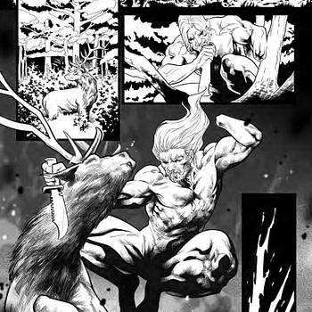 Valiant Previews Emilio Laiso's Inks for X-O Manowar #1