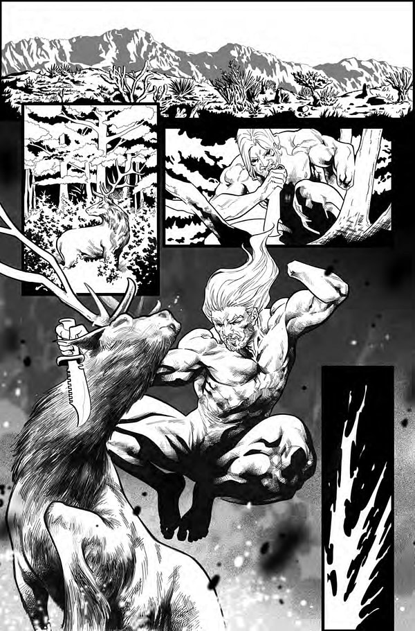 Valiant Previews Emilio Laiso's Inks for X-O Manowar #1