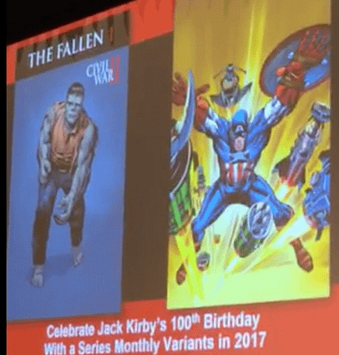 MARVEL TWO-IN-ONE #1 KIRBY 100TH ANNIVERSARY VARIANT