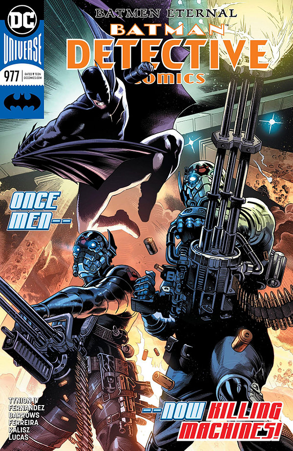 Batman: Detective Comics #977 cover by Eddy Barrows