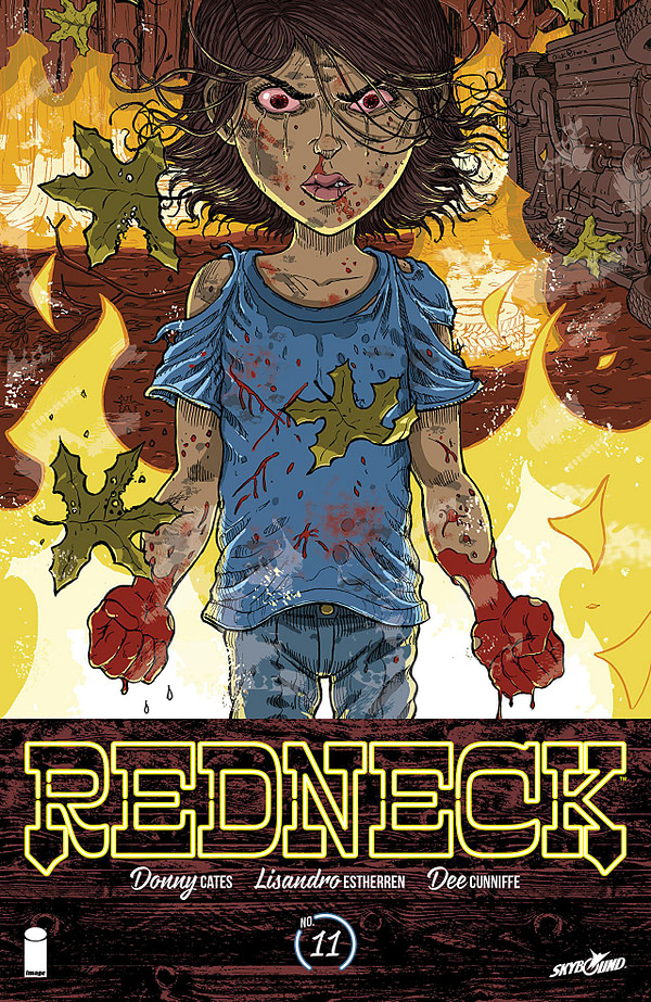 Redneck #11 cover by Nick Pitarra